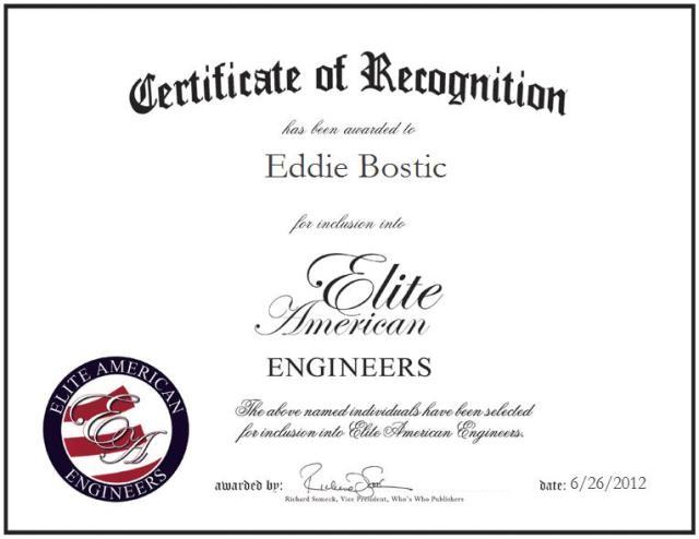 Eddie Bostic