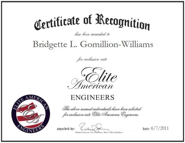 Bridgette Gomillion-Williams