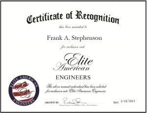 Frank A. Stephenson